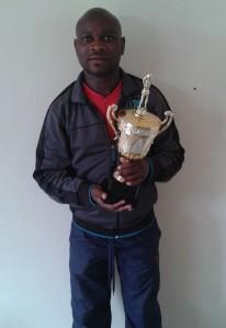 Nceba and trophy