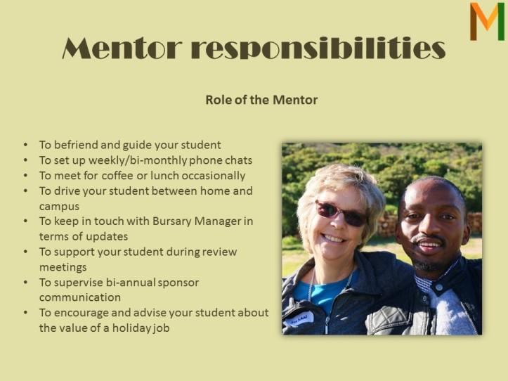 mentor-responsibilities