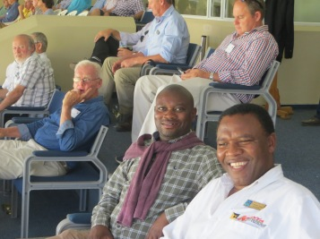 Micheal, Nceb and David at Newlands SA v I ODI